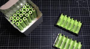 Laga elcykel batteri